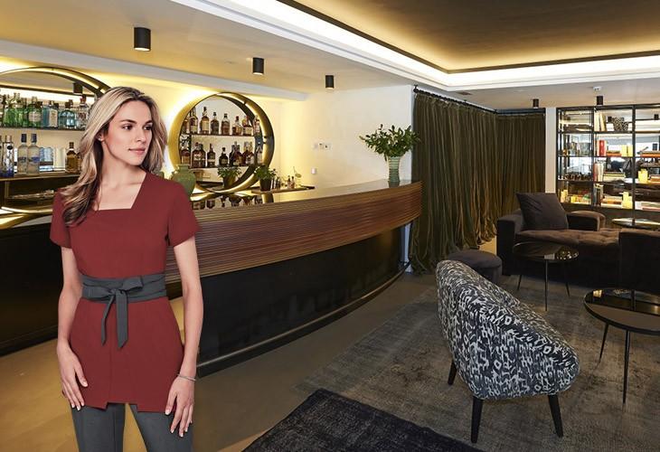 vestuario hotel the serras barcelona