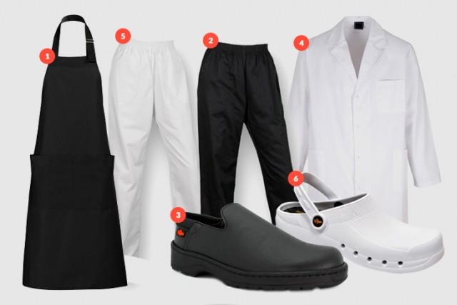 vestuario de trabajo