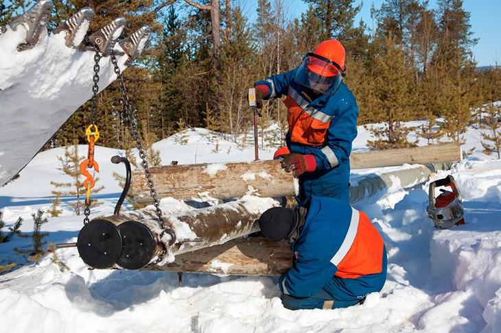 Uniformes de trabajo de invierno