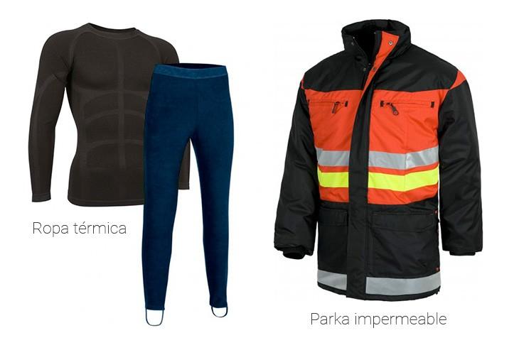 Vestuario de trabajo de invierno