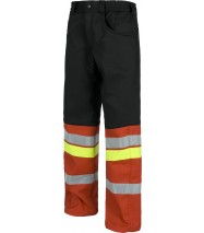 Pantalón forrado en tejido polar