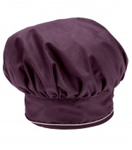 Gorro Chef vivo blanco